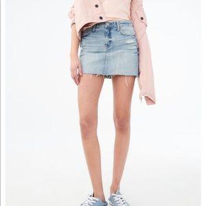 Zara Premium Denim mini-Short Size 8